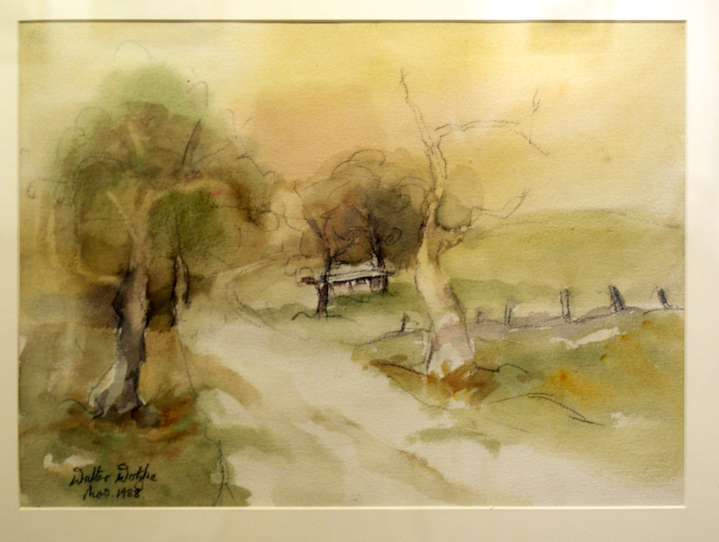Walter Wotzke Watercolour After the Storm