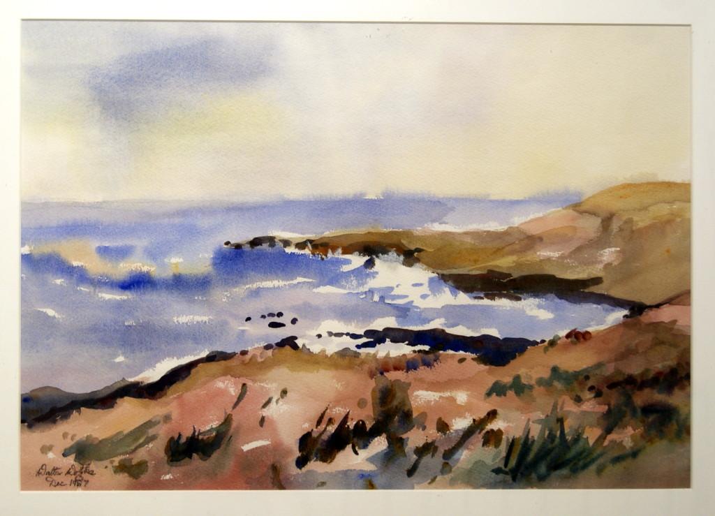 Walter Wotzke Watercolour South Coast
